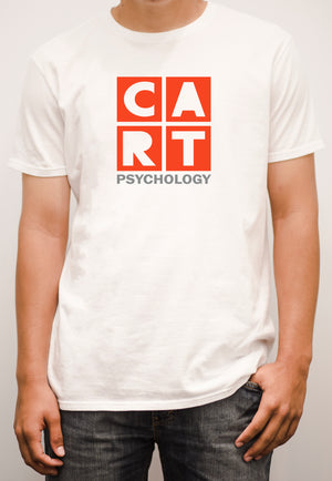 Short sleeve t-shirt - psychology grey/red
