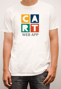 Short sleeve t-shirt - web application grey/multicolor logo