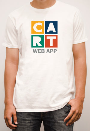Short-Sleeve T-Shirt - Web App Multicolor/Grey Logo