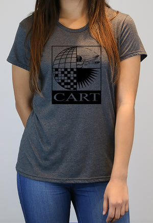 Women's short sleeve t-shirt - vintage CART logo