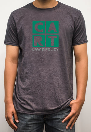 Short sleeve t-shirt - law & policy grey/green