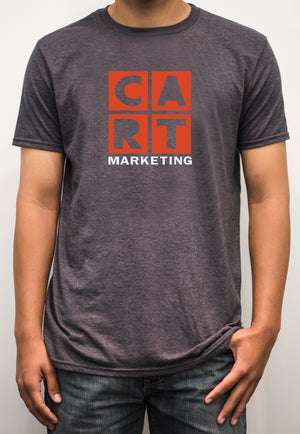 Short sleeve t-shirt - marketing white/red