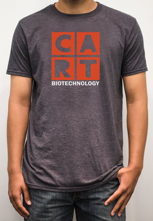 Short sleeve t-shirt - biotechnology white/red