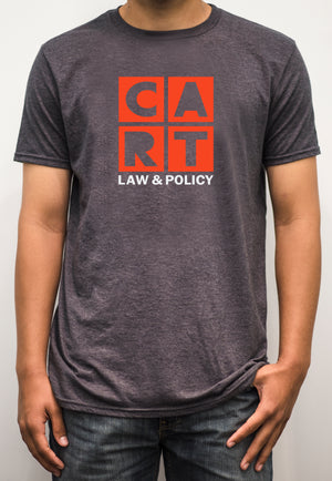 Short sleeve t-shirt -  law & policy grey/red