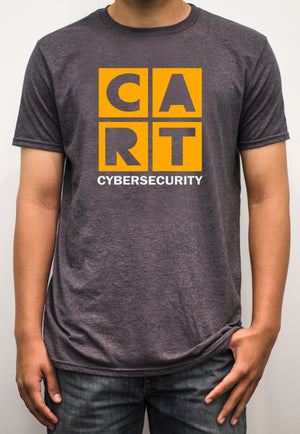 Short sleeve t-shirt - cybersecurity white/yellow