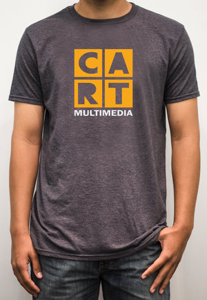 Short sleeve t-shirt - multimedia white/yellow