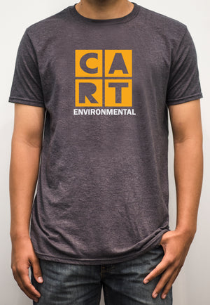 Short sleeve t-shirt - environmental white/yellow