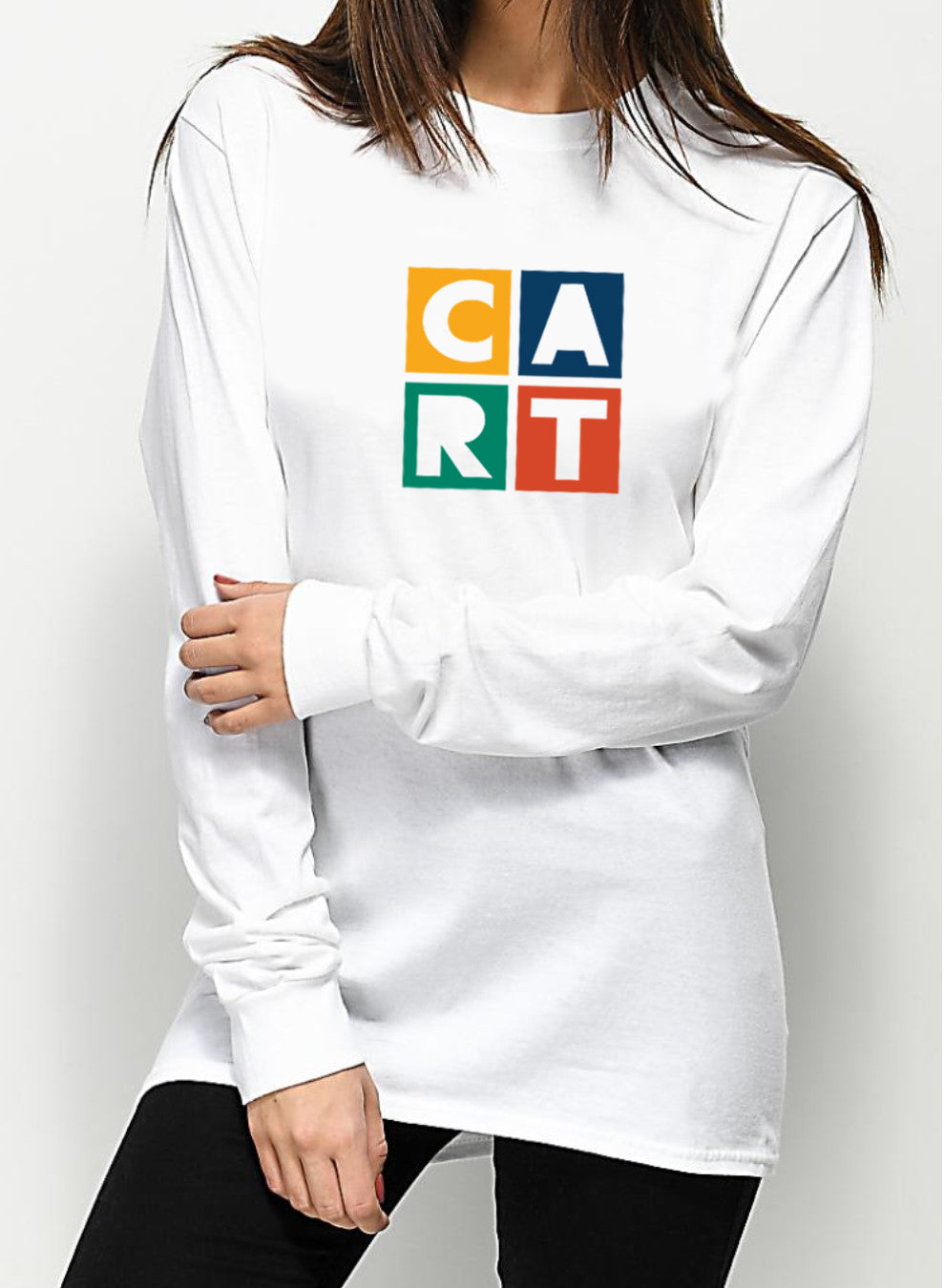 Long Sleeve T-Shirt - CART Colored Logo / Unisex Fit