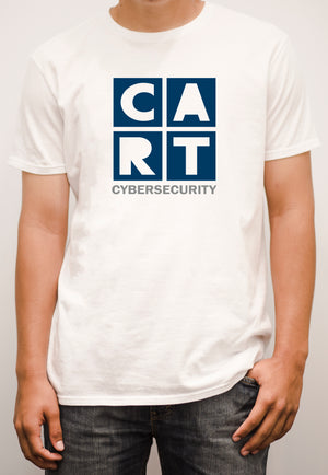 Short sleeve t-shirt - cybersecurity grey/blue