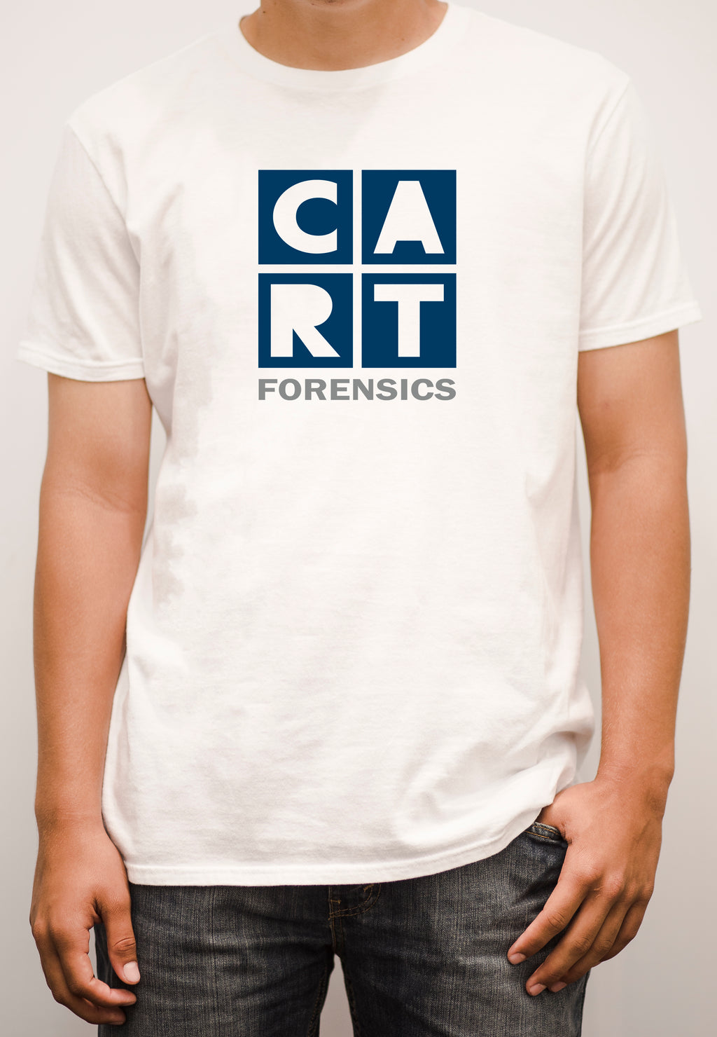Short sleeve t-shirt - forensics grey/blue