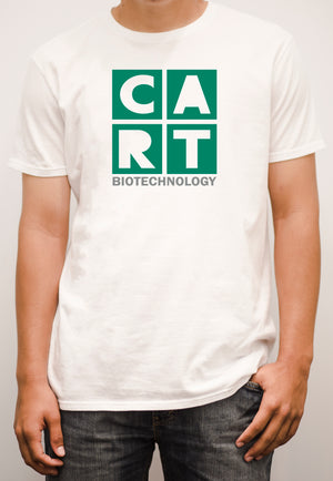 Short sleeve t-shirt - biotechnology grey/green logo