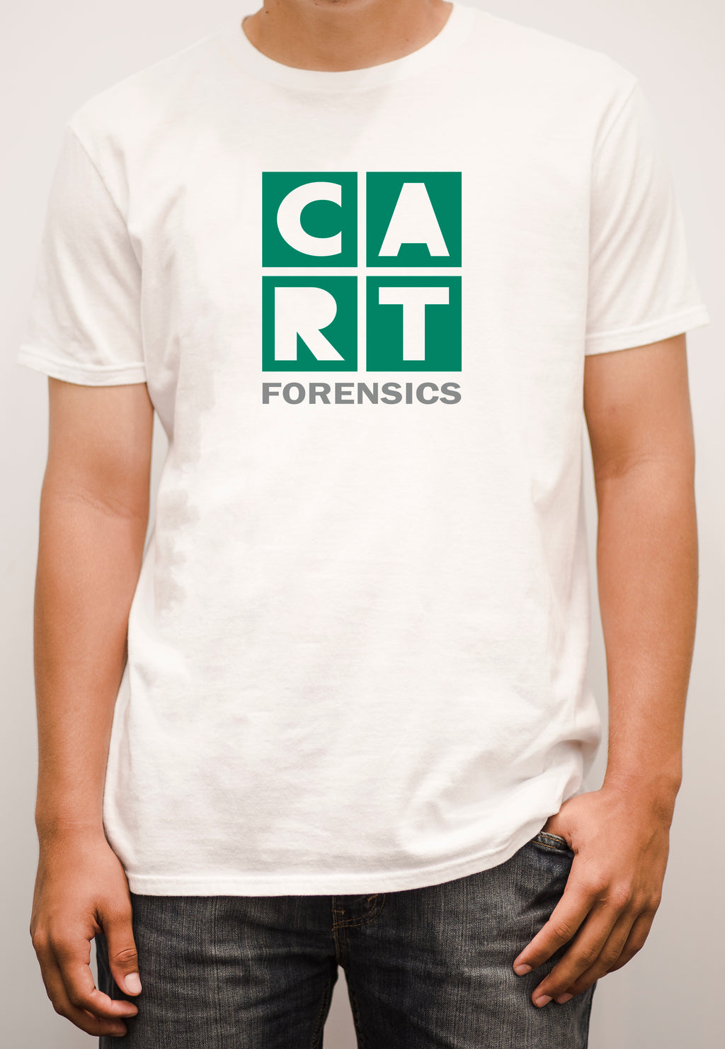 Short sleeve t-shirt - forensics grey/green