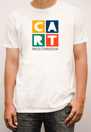 Short sleeve t-shirt - multimedia grey/multicolor logo
