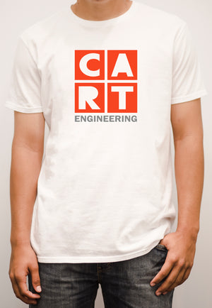 Short sleeve t-shirt - engineering grey/red