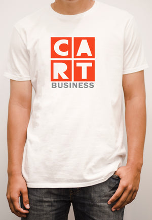 Short sleeve t-shirt - business grey/red