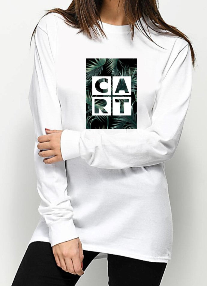 Long Sleeve T-Shirt - Tropical Logo / Unisex Fit