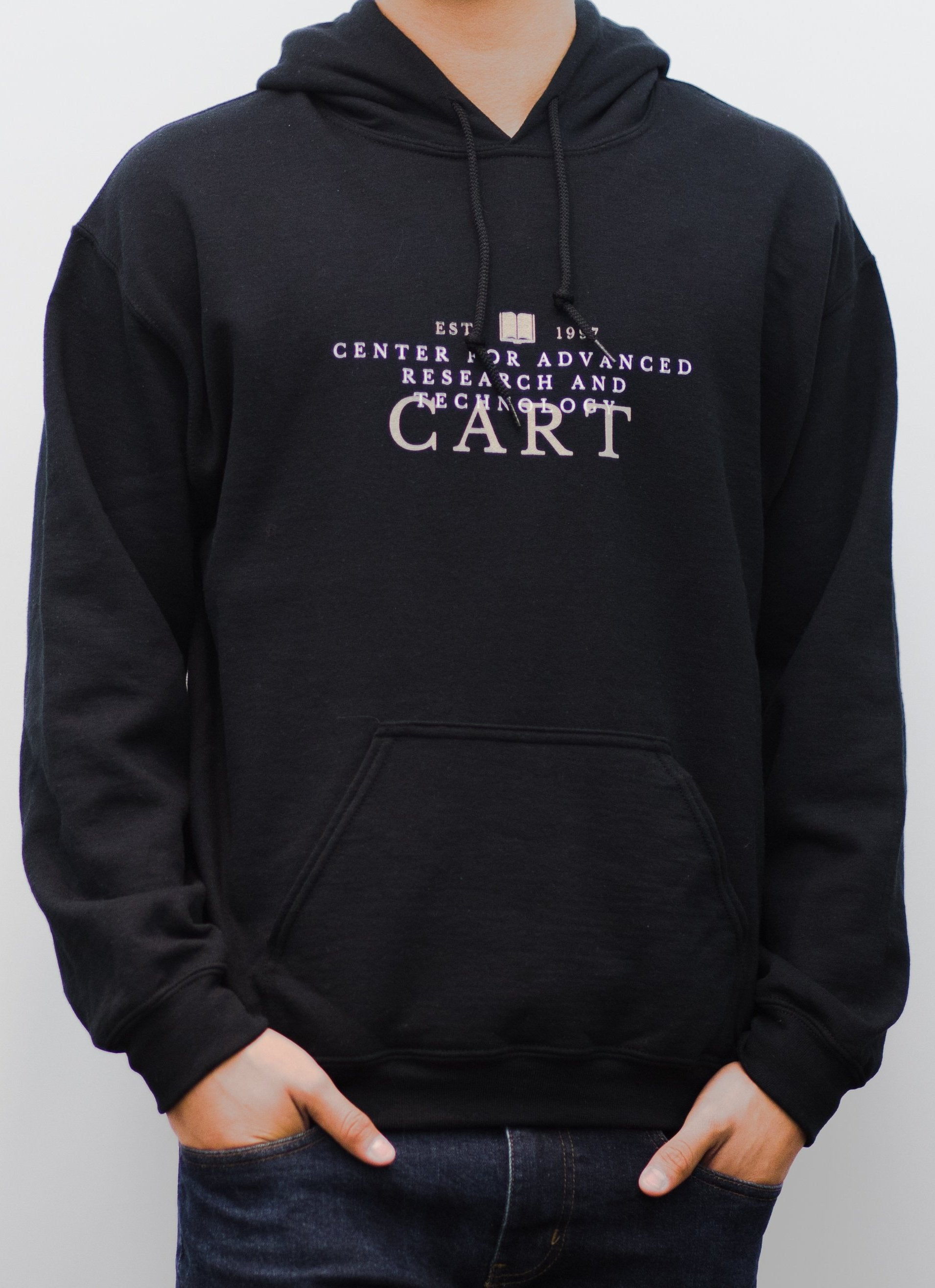 CART Collegiate Hooded Sweatshirt - Black
