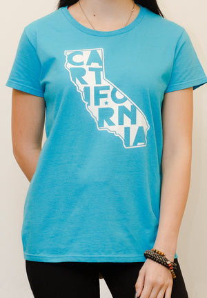 Women's CARTifornia - t-shirt