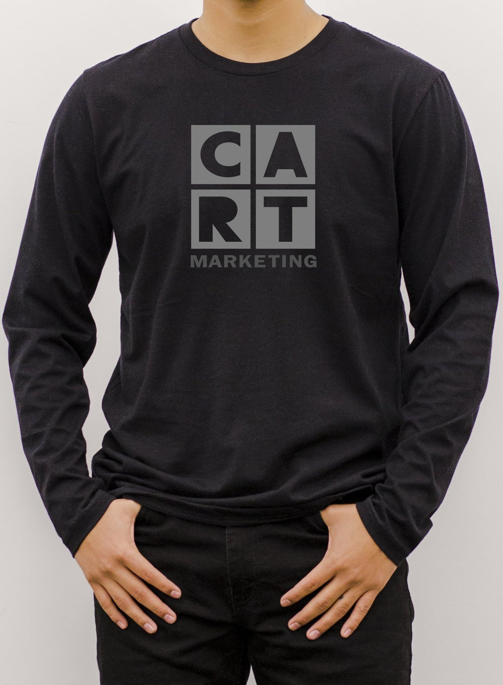 NEW Long Sleeve T-Shirt - Marketing