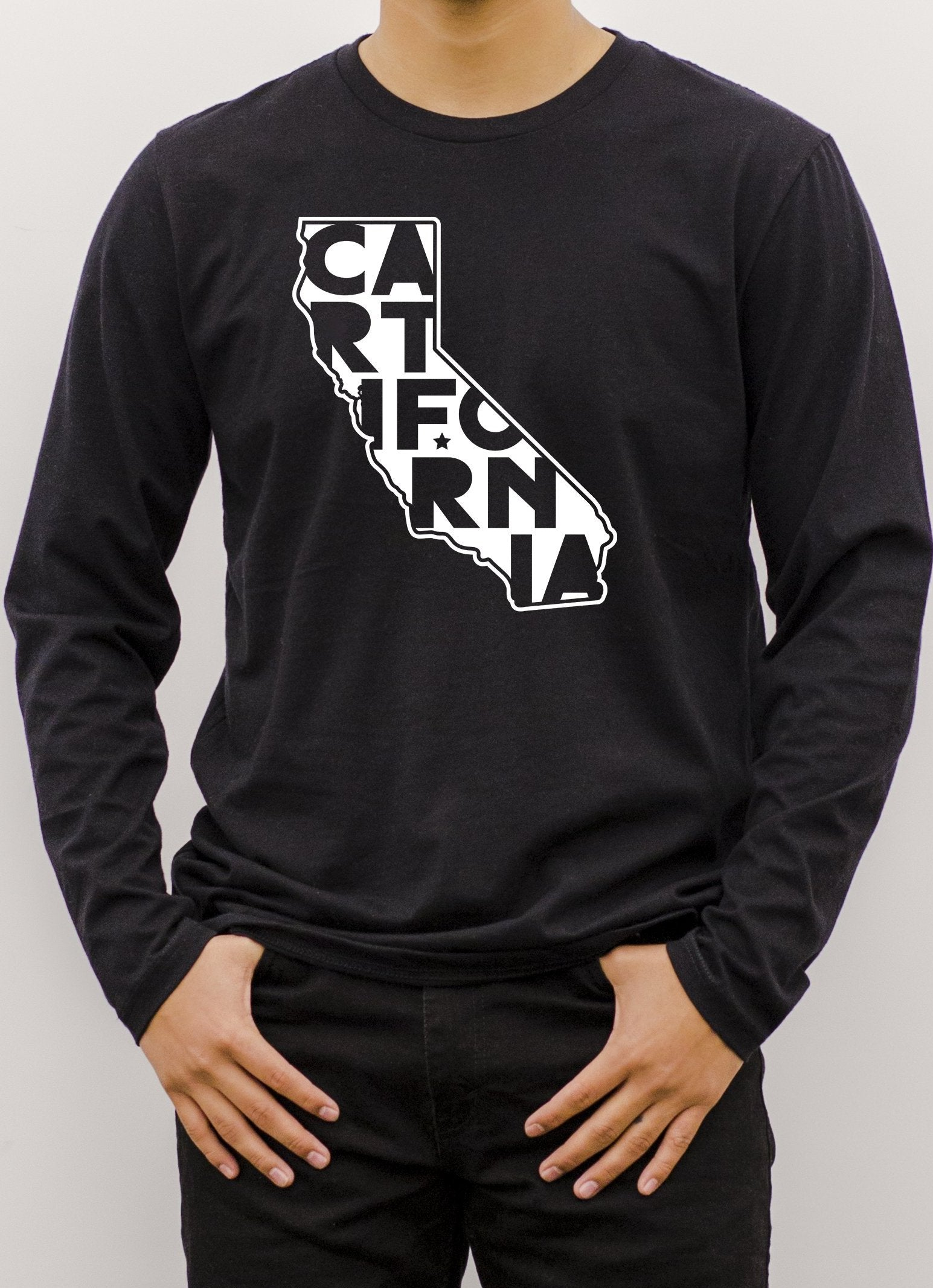 Long Sleeve T-Shirt - CARTifornia Colorful / Unisex Fit