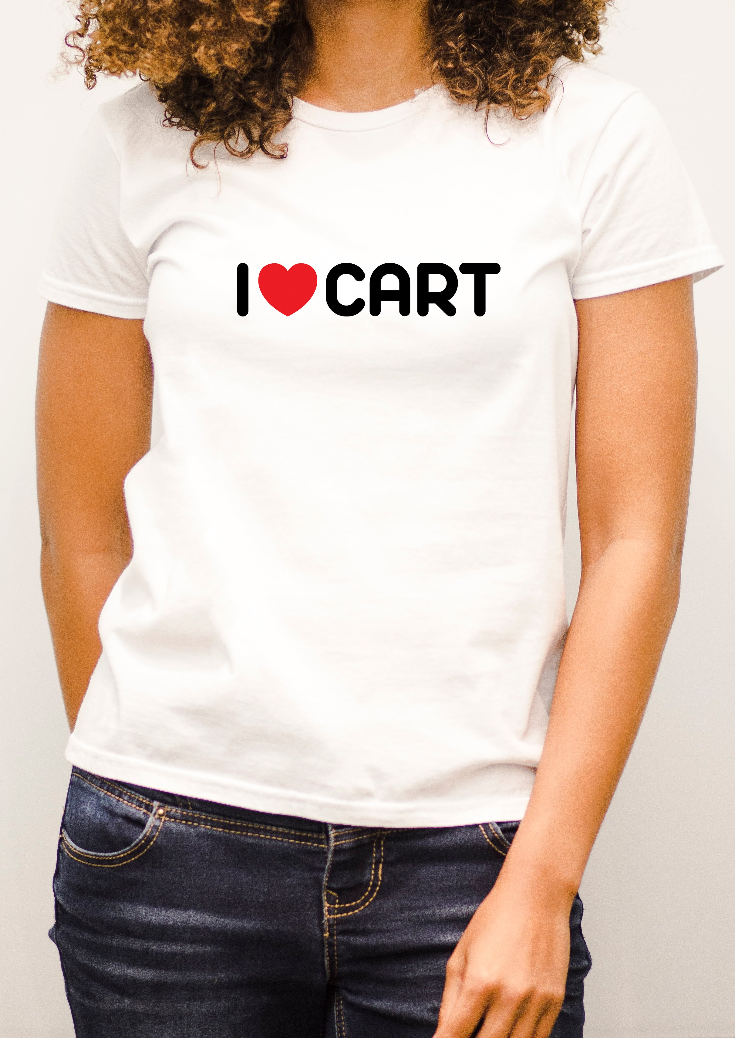Women's - I love CART short sleeve t-shirt