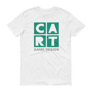 Short sleeve t-shirt - game design grey/green