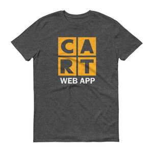 Short-Sleeve T-Shirt - Web App Yellow/White Logo