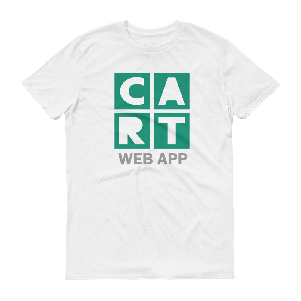 Short-Sleeve T-Shirt - Web App Green/Grey logo
