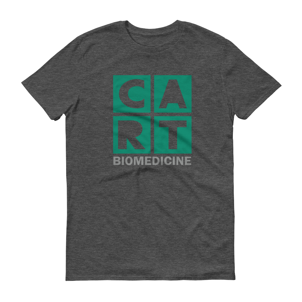 Short sleeve t-shirt - biomedicine grey/green