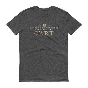 Short sleeve t-shirt - CART collegiate black/grey