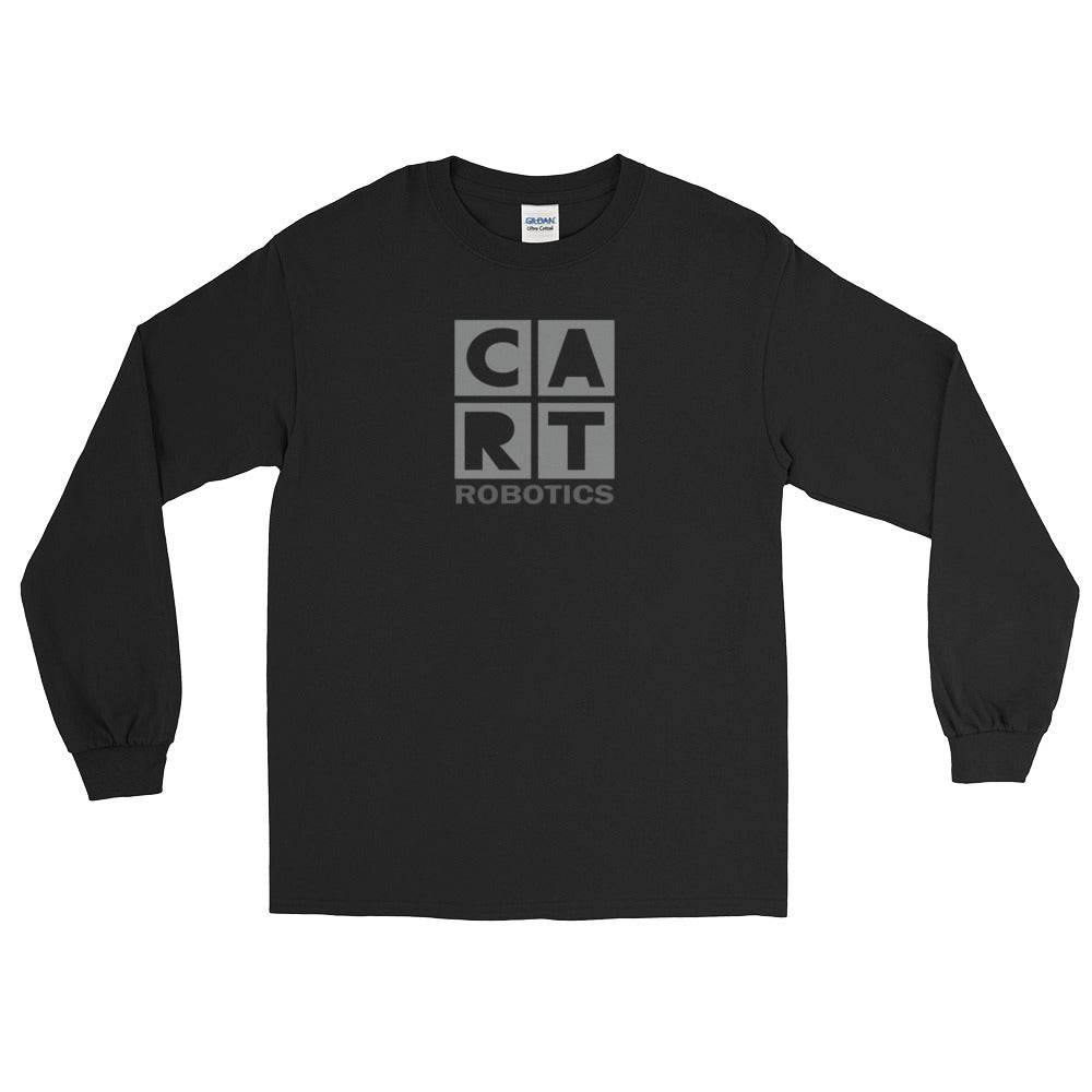 Long Sleeve T-Shirt (Unisex fit) - Robotics black/grey logo