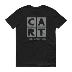 Short sleeve t-shirt (Unisex fit) - Forensics black/grey grey logo