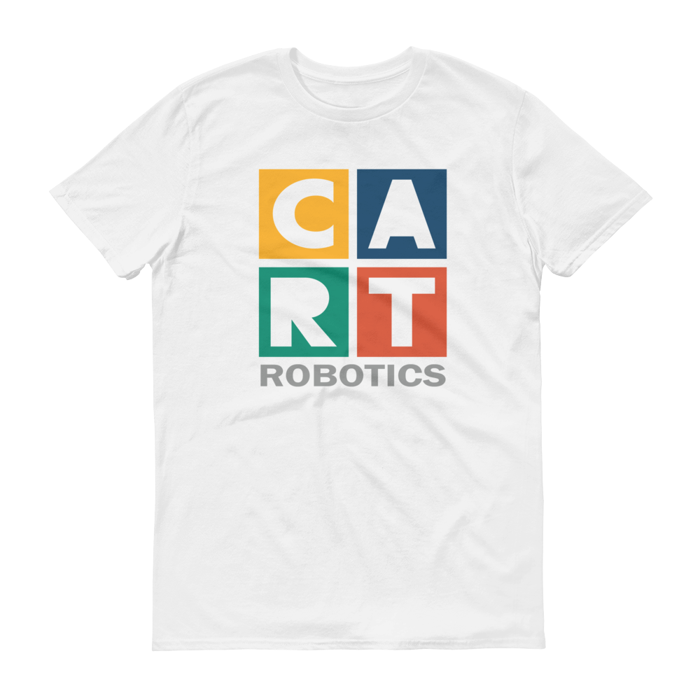 Short sleeve t-shirt - robotics grey/multicolor design
