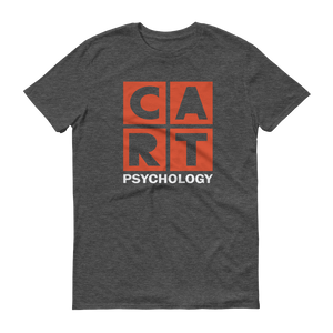 Short sleeve t-shirt - psychology white/red