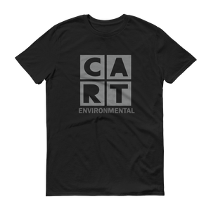 Short sleeve t-shirt (Unisex fit) - Environmental black/grey logo