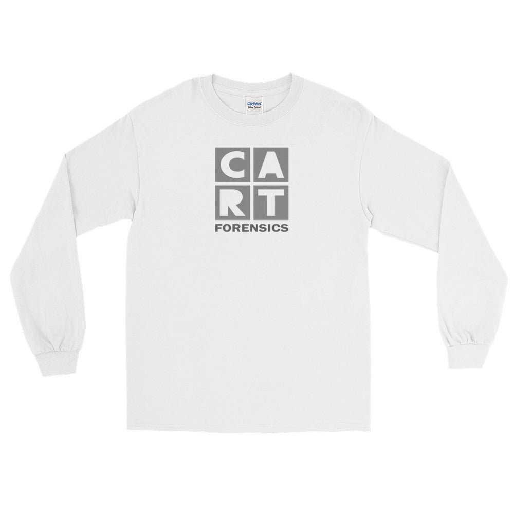 Long Sleeve T-Shirt (Unisex fit) - Forensics black/grey logo