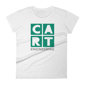 Women's short sleeve t-shirt - engineering grey/green