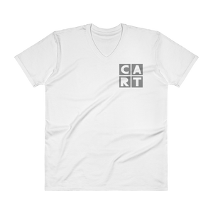 V-Neck T-Shirt - CART Classic V-Neck White