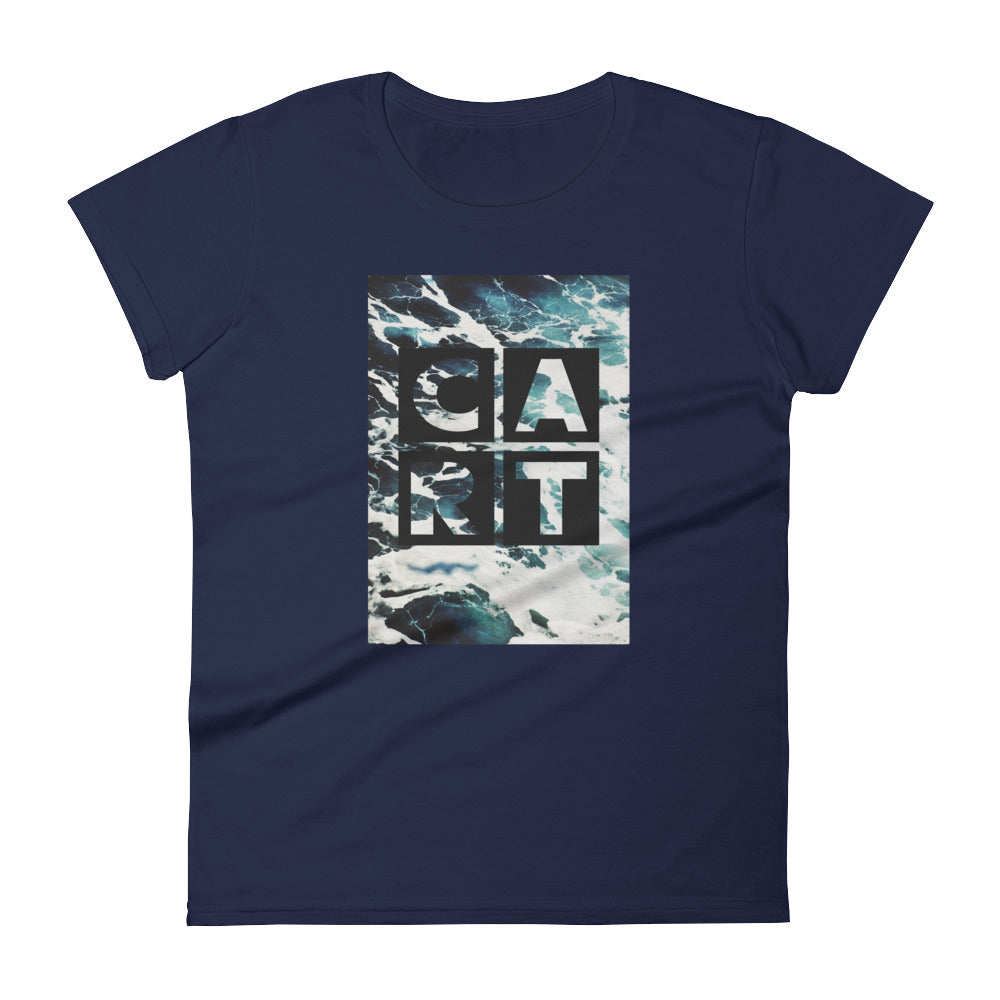 Women's Ocean - Tee with CART Logo