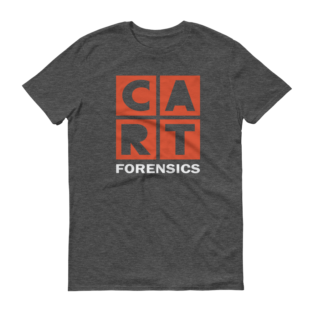Short sleeve t-shirt - forensics white/red