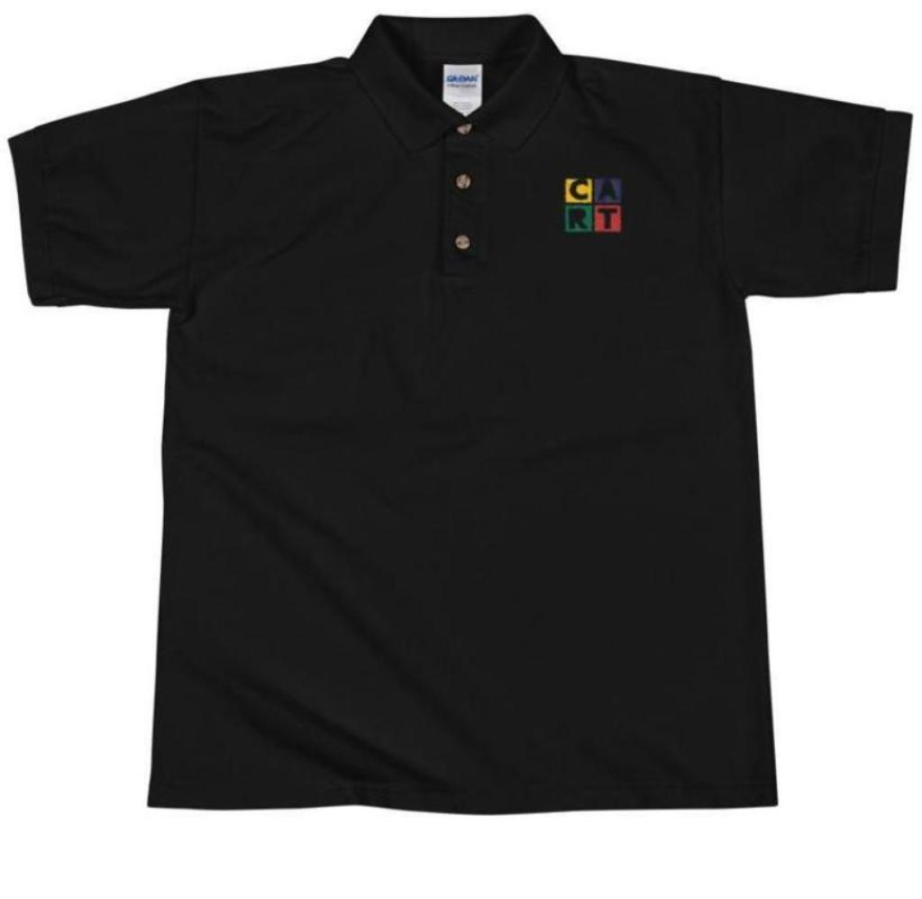 Embroidered Polo Shirt - CART Classic Logo