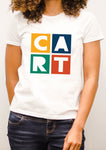 Women's short sleeve t-shirt - CART logo