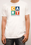 Short-Sleeve T-Shirt - marketing white/multicolor logo