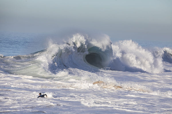 Waves in the Pacific Ocean, Newport Beach, Orange County, California, USA