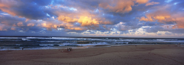 Scenic view of beach at the sunset, South Africa