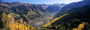 High angle view of a valley, Telluride, San Miguel County, Colorado, USA