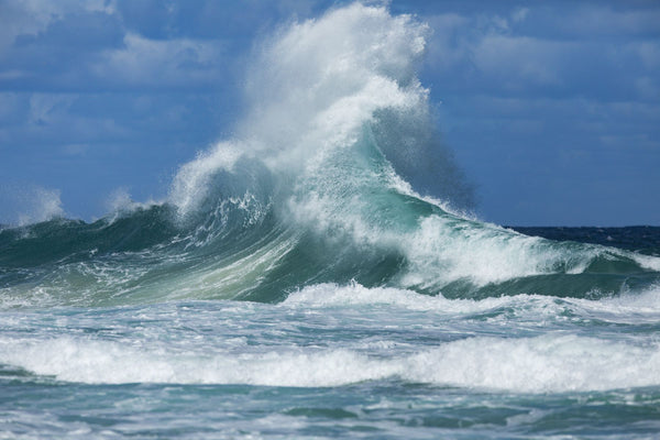 Waves in the Pacific Ocean, Coral Sea, Surfer's Paradise, Gold Coast, Queensland, Australia