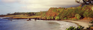 Coastline, Hamoa Beach, Hana, Maui, Hawaii, USA