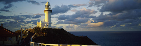 Lighthouse at the coast, Broyn Bay Light House, New South Wales, Australia