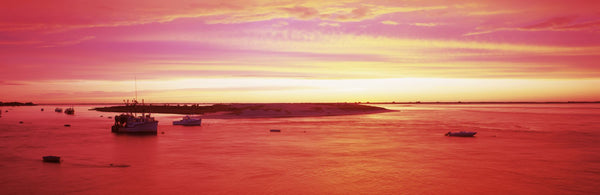 Sunrise Chatham Harbor Cape Cod MA USA